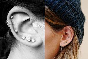.Gestochen scharf: 12 Ohrenpiercings, die absolut umwerfend sind > Kleine Zeitung