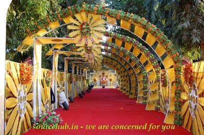 Marriage Hall decoration Ideas for Indian Marriage