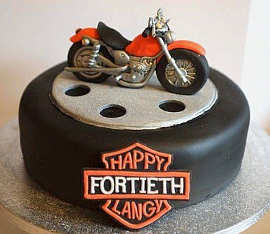 Motorcycle Cake Cakes Motorbike