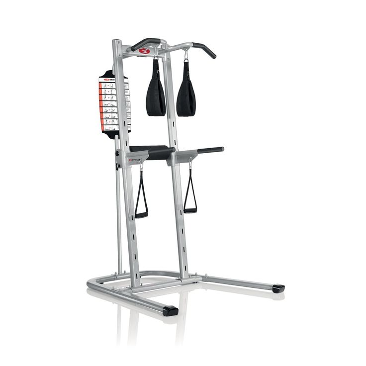 The Bowflex Power Tower - Is a multi-station workout tower equipped with the best commercial grade steel frame at a cool price. This beast is a must have.