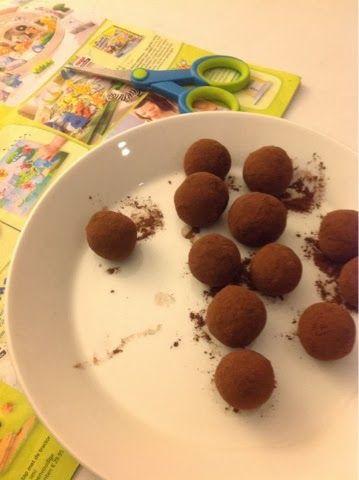TaartenArt - de blog: Suikervrij marsepein recept, cacao balletjes en worst