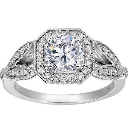Its only $15, 740..: Brilliant Earth, Halo Diamonds Rings, Shank Halo, Victorian Split, Splitshank, Split Shank, Luxe Victorian, Brilliantearth, Engagement Rings Sets