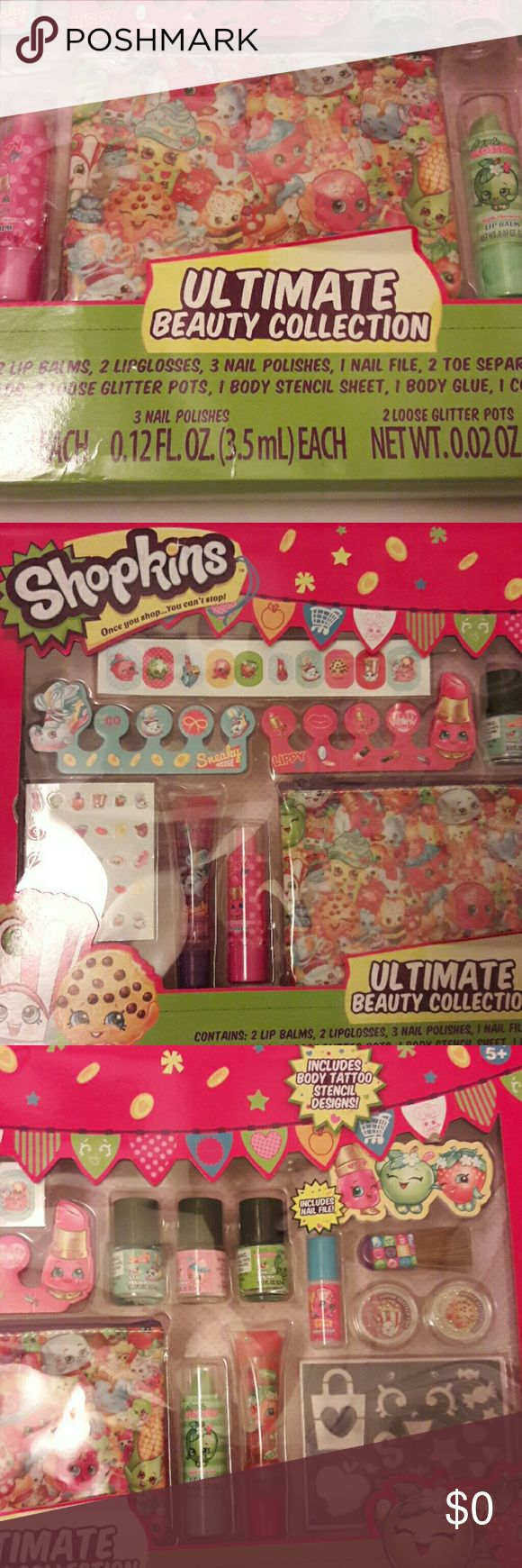 Shopkins Set **** Not for sale **** Shopkins ultimate Beauty collection Shopkins Other