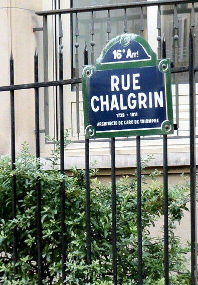 La rue Chalgrin  (Paris 75016)