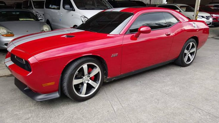 First Owned Local Purchase RARE Unit 2013 Dodge Challenger SRT8 Manual Transmission Must See Call 09175287233 for more info or click image for Price #dodge #musclecars  #hellcat  #charger #autotradephils Please LIKE, LOVE and SHARE .. Thank You