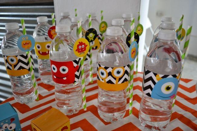 Monster Themed Boys Birthday Bash Drink Ideas
