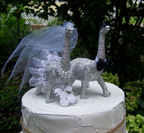 dinosaur wedding cake topper 86 best wedding cake toppers images on wedding 13531