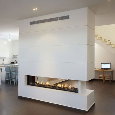 Chimeneas de gas #hogar #diseño #moderno