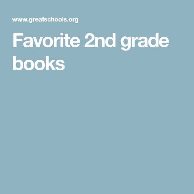 Favorite 2nd grade books