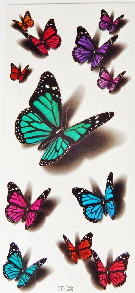 Telenor E-post :: Flere Pins til tavlen din Sommerfugler