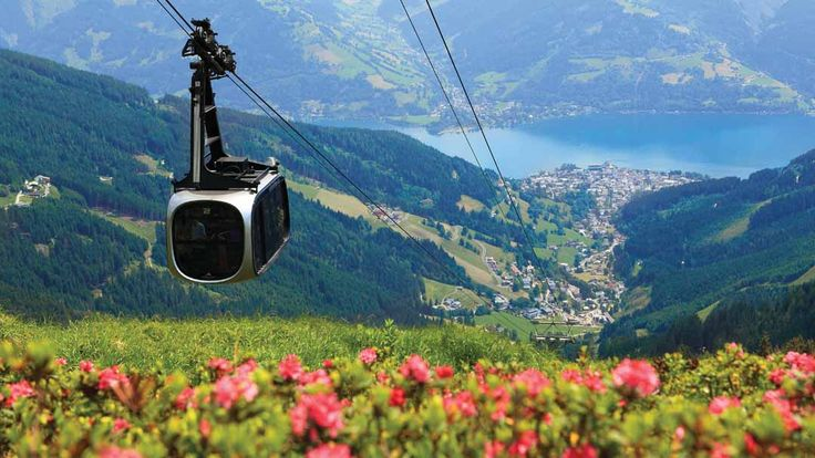 Austria is all about the scenery, whether you're looking out over crystal lakes or walking through flower-strewn meadows – all with lots of culture along the way. #Austria #Travel #Summer #Sun #Lakes #Mountains