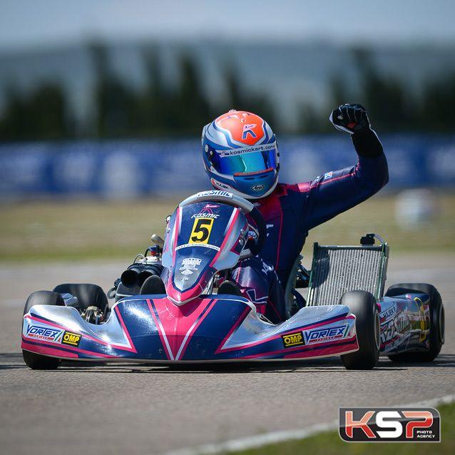 Neuf pilotes dans le Kosmic Racing Department en 2017