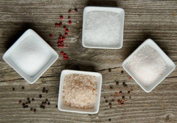 with a grain of salt - 7 types of salt and how to use them.