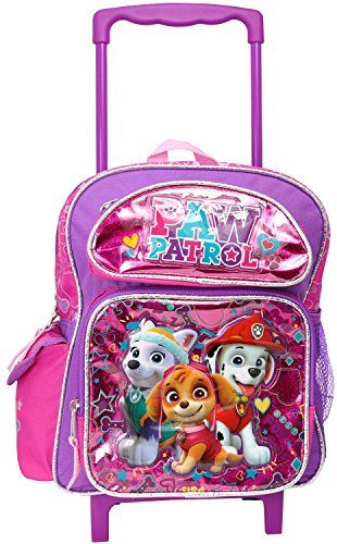 a9703925bc0 Beautiful Paw Patrol Nickelodeon Girl s Paw Patrol small Rolling Backpack  online.   32.95  nanaclothing from top store
