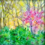 Springtime.  Watercolour.