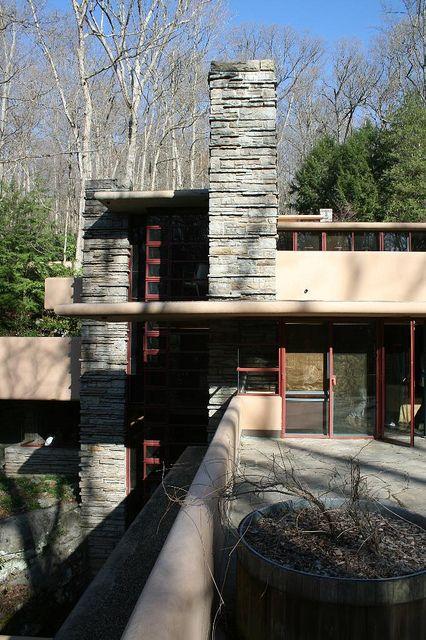 Fallingwater / Kaufman Residence. 1936-9. Bear Run Creek in Mill Run, Pennsylvania. Frank Lloyd Wright. by ijnicholas