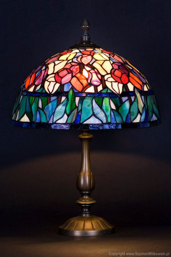 Well-liked 160 best Tiffany lamps images on Pinterest | Stained glass lamps  FB58