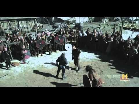 Top 5 Vikings scenes so far! list #4Ragnar Lothbrok vs Earl Haraldson high fidelity notes