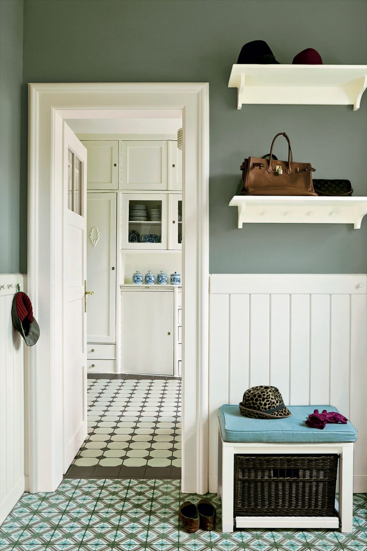 Paint Colours |  Card Room Green  | Farrow & Ball