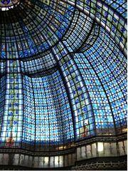 Coupole du Printemps. Art-nouveau. Paris