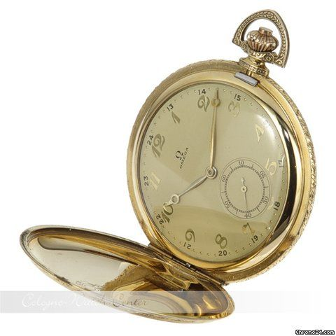 Omega Taschenuhr Vergoldet 8146345