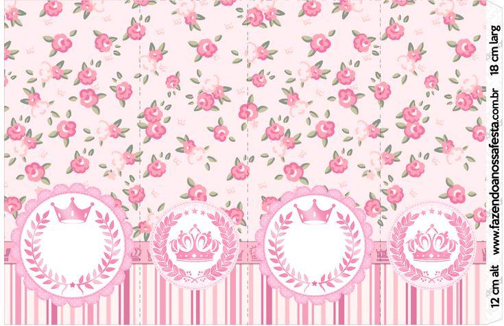 Uau! Veja o que temos para Nescauzinho Coroa de Princesa Rosa Floral