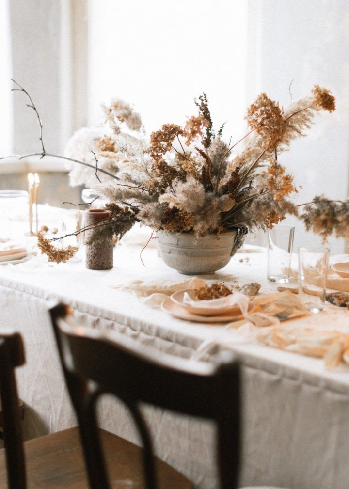 Decorating With Dried Flowers Honestly Wtf Wedding Table Flowers Table Flowers Dried Floral