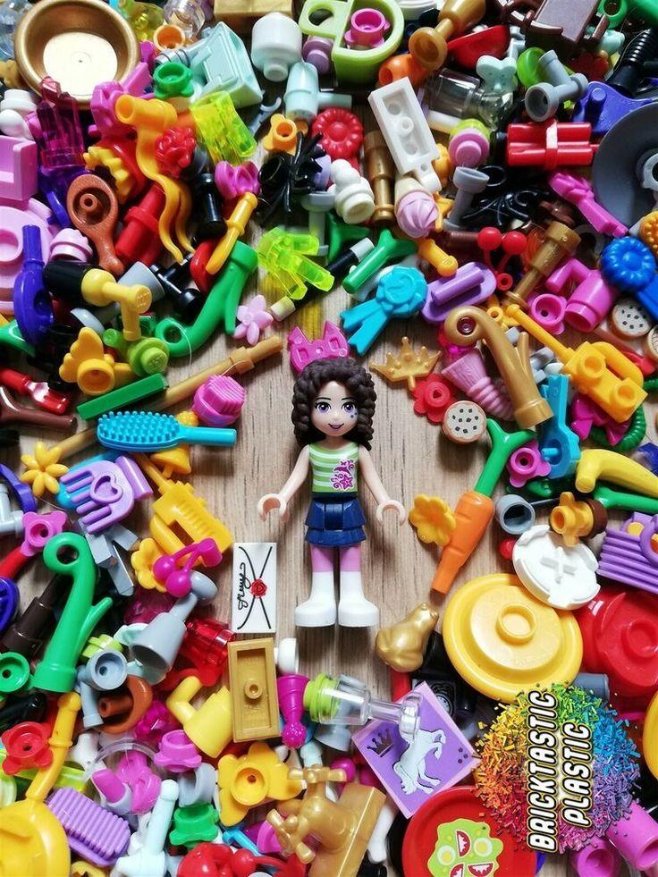 LEGO - X50 FRIENDS MINIFIGURE ACCESSORIES CREATIVTY PACK(S ...