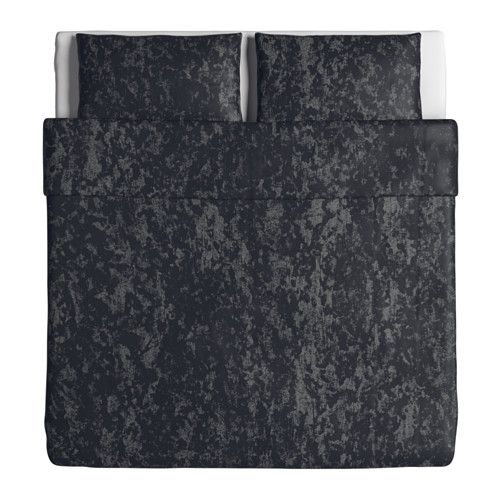 SVÄRTAN Quilt cover and 2 pillowcases  - IKEA