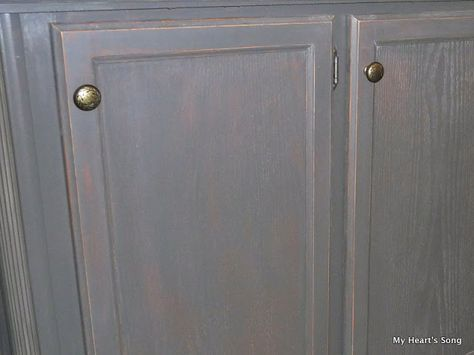 Refinishing particle board and laminate. This blog post has all kinds of great tips on refinishing cheaper woodwork, paneling and things from mobile homes.