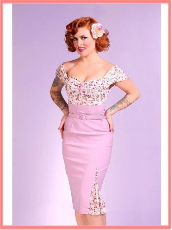 "Newest addition-Bettie Page ""Violet"" Dress"