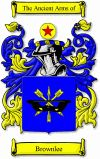 Brownlee Coat of Arms / Brownlee Family Crest