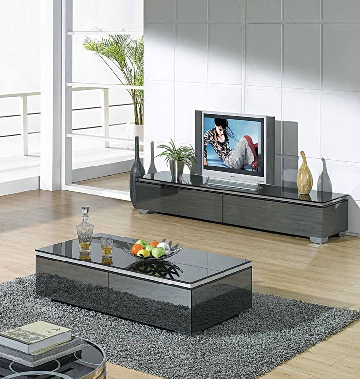 Matching Glass Tv Stand And Coffee Table