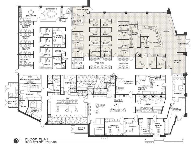 Adobe_fp_lg (940×705). Hospital DesignFloor PlansHospitalsBarn ...