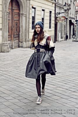 photo: Lubica Martincova coat: Lenka Sršňová