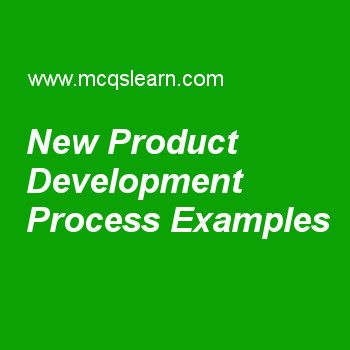 New Product Development Process Examples