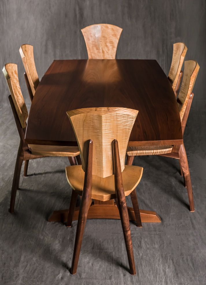Grand Lily Wood Dining Chair  Brian Boggs Chairmakers 83 best First Class Seating More images on Pinterest Stools