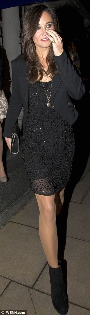 Pippa leaving The Goring Hotel in London on 9/27/2012