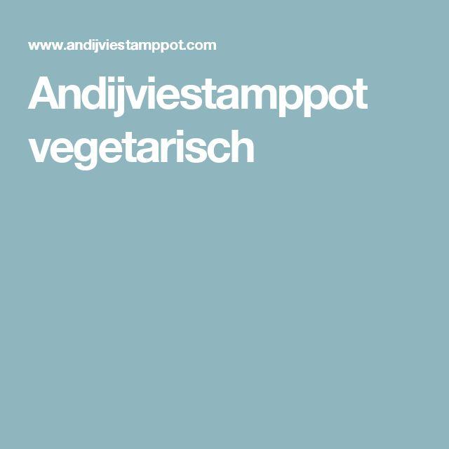 Andijviestamppot vegetarisch