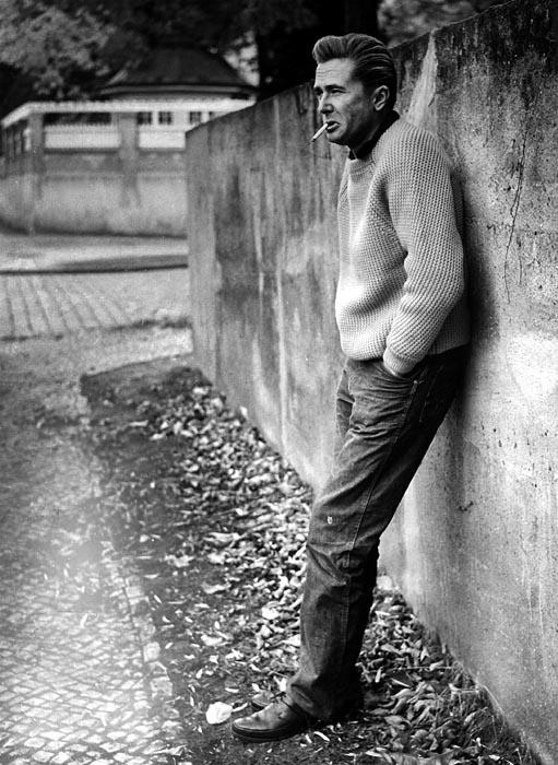 Marek Hłasko - writer. Born 1934 in Warsaw, died 1969 in Wiesbaden.