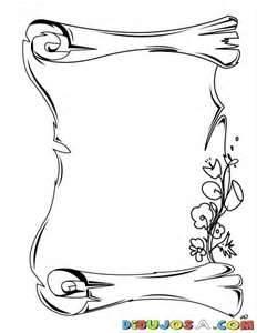 En Blanco Pergaminos Para Imprimir Gratis Dibujos Tattoos