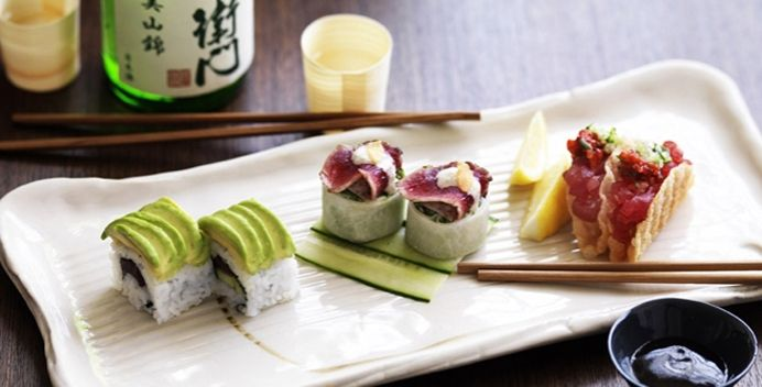 I love Sake's modern twist on traditional Japanese flavours. Don't forget the sake shooter to cleanse the palatte!