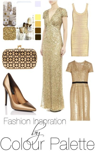 fashion inspiration by colour palette