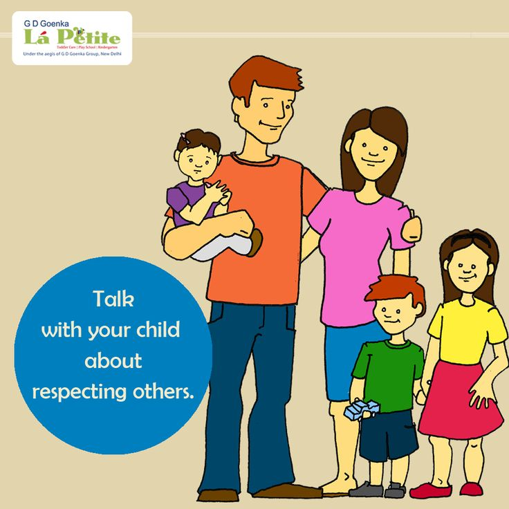 Help your child develop respect for other. #ParentingTip