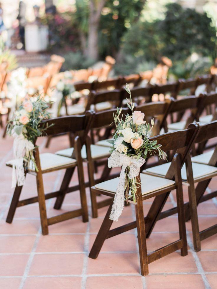 Peach + Blush Hummingbird Nest Ranch Wedding