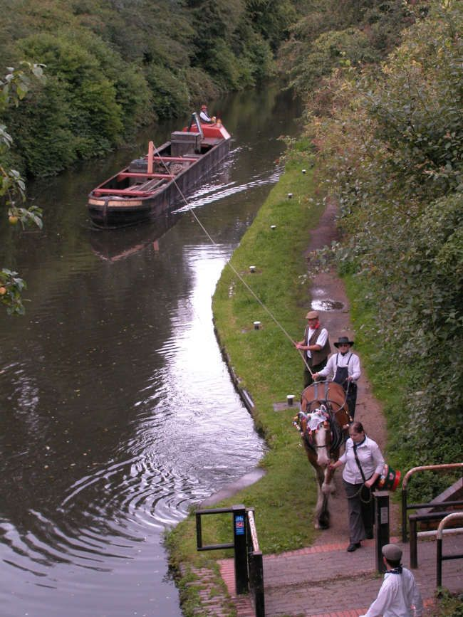 Horse-drawn Narrow Boat