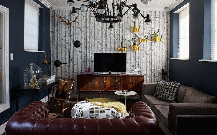 Five tips on using a moody black or grey colour palette in your home