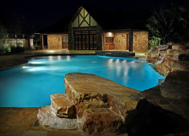 A Jump Rock Functions in Place of a Diving Board
