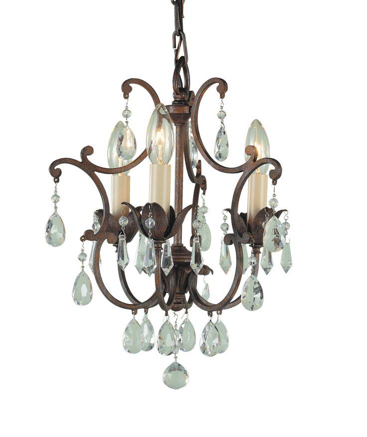 936 best lighting images on pinterest light fixtures chandelier feiss maison de ville british bronze mini chandelier at the home depot mobile aloadofball Images