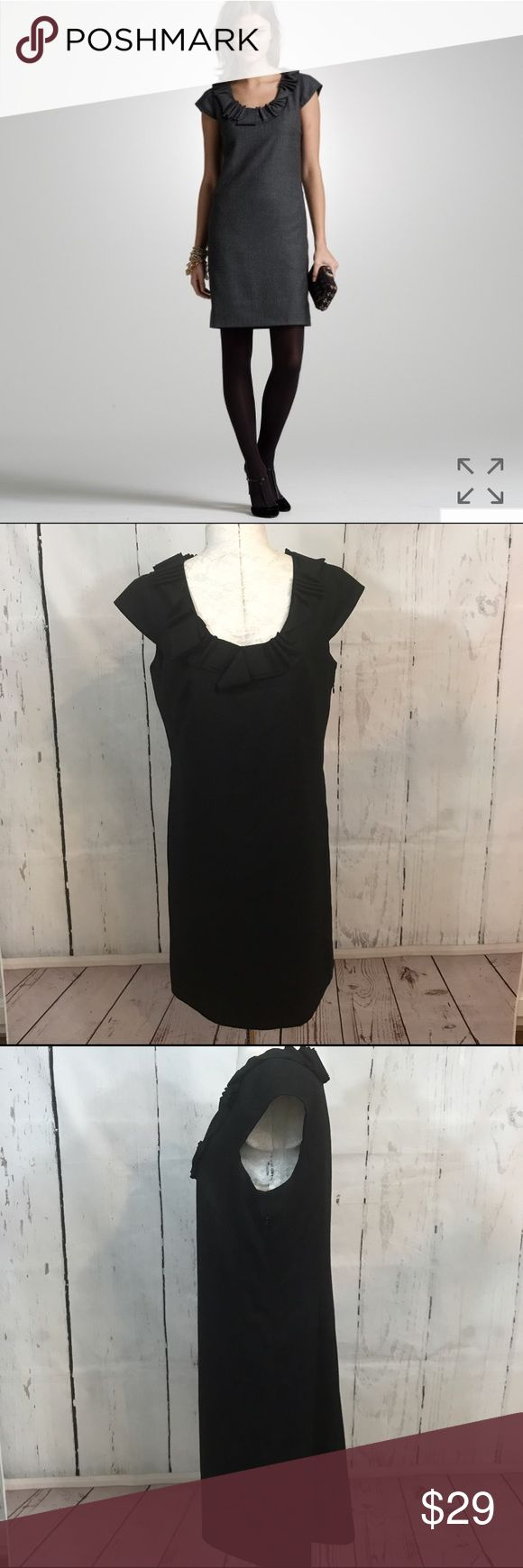 """🖤🖤 J CREW WOOL RIBBON RAVINE DRESS B32 Condition: Excellent pre owned condition Approximate measurements (laying flat): 18"""" bust 37"""" length  Item location: bin 32  ❤no trades/no modeling❤ J. Crew Dresses"""